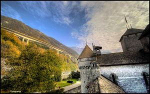 Chillon, Switzerland - WP by superjuju29