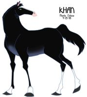 Mulan - Khan the Horse by agra19