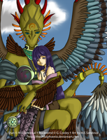 .TheBladeAndTheGirl.FINISHED. by TheChibiPhoenix