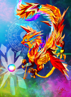 Golden Dragon New Version by Asoq