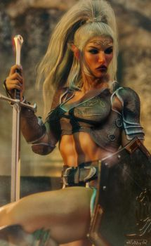 Elven princess by Hubby72