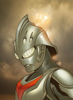 Ultraman Nexus by atombasher
