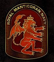 Royal Manticoran Navy Crest by thomasthecat