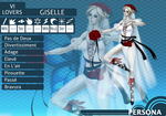 MM Custom Persona: Giselle by lacelazier
