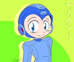 Rockman~ by LoaS-ScourgeTH