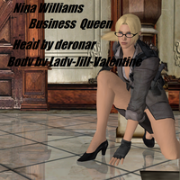 Nina Williams Business Queen by LingLostHappinesXiao