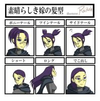 Hairstyle Meme Barriss by Raikoh-illust