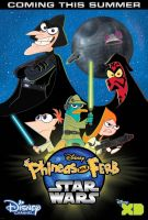 Phineas and Ferb Star Wars Poster by RedJoey1992