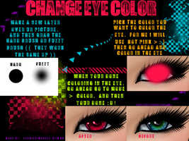 Eye Coloring Tutorial by Neoluxi