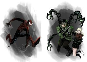 Burtonesque Spider-Man by weremole