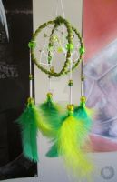 Lemon and lime - Dreamcatcher by Lilith-Symphony