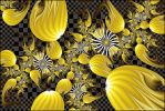 Yellow Congregation by Velvet--Glove