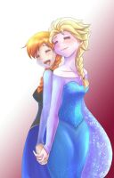 Elsanna - Sisterly love by kei111