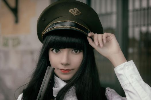Portrait II - Military Lolita by MaySakaali