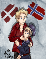 Denmark Norway by MariPocket