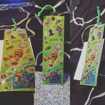 Tmnt Bookmark  by LittleMissCurly