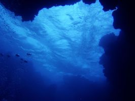 Blue Underwater 5491979 by StockProject1