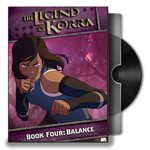 Avatar The legend of Korra Balance Dvd Folder Icon by Omegas82128