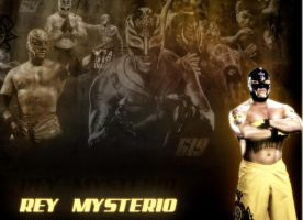 WWE,Rey Mysterio Wallpaper by Gogeta126