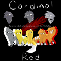 Cardinal Red Poster by redfeather522