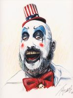 Captain Spaulding by tdastick