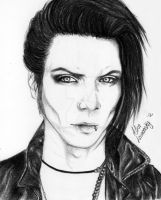 Andy Biersack by AliceLovzansky