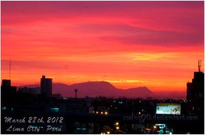 Lima City - Sunset by CoolNG90