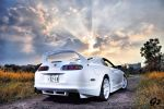 Supra on sunset by octacon