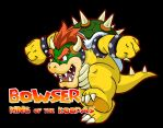 Bowser on a Rampage by BenjaminTDickens