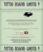 Tattoo designer wanted! by M10tje