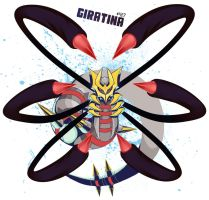 No: 487 Giratina by wildragon