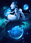 MewTwo by BlueExorciste