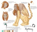 Sphinx Character Sheet by gothgoddess