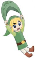 Link from The WindWaker by MelodyCrystel