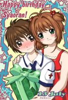 Happy birthday Syaoran by Sakuli