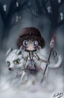 Princess Mononoke by Chibi-Joey