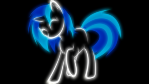 Vinyl Scratch, Scratch That! by ISkyArt