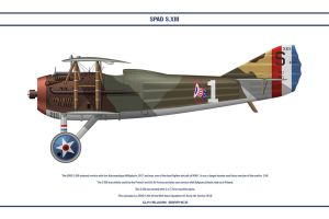 Spad S.XIII USA 94th Aero Sqn by WS-Clave