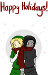Holiday Card: Dark by Ask-GreenLink