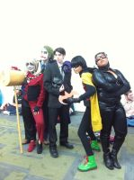 Cast from Batman Fanime 2011 by LadyAkeldama
