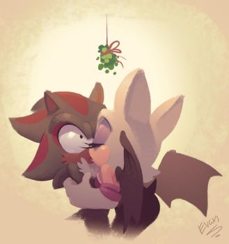 And then Shadow learned what mistletoe is by EvanStanley
