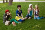 Backstage. Hipster Princesses by AppolinaryI
