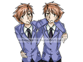 Hitachiin Twins - OHSHC by Ashannemarie
