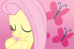 Fluttershy Wallpaper V2 by Luuandherdraws