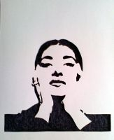 Maria Callas by sicksister