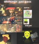 psd pack by GRANDMIX