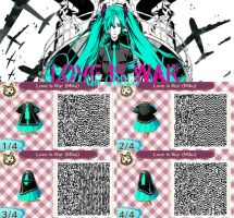 Love is War - Miku - QR codes by yuyuforever