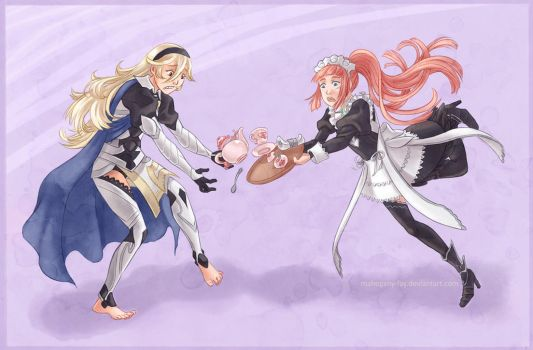 Corrin and Felicia - Commission by Mahogany-Fay