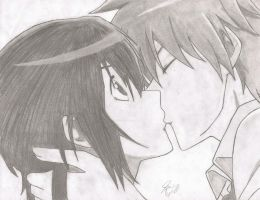 Usui and Misaki by BluePhoenix1919
