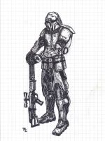 Mandalorian Concept by Master-Cyrus